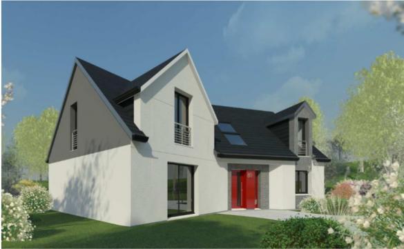 Maison+Terrain à vendre .(149 m²)(BESNE) avec (DESIGN HABITAT)