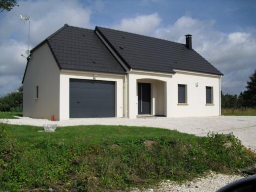 Maison à vendre .(96 m²)(DAMPIERRE EN BURLY) avec (CHENES CONSTRUCTIONS)