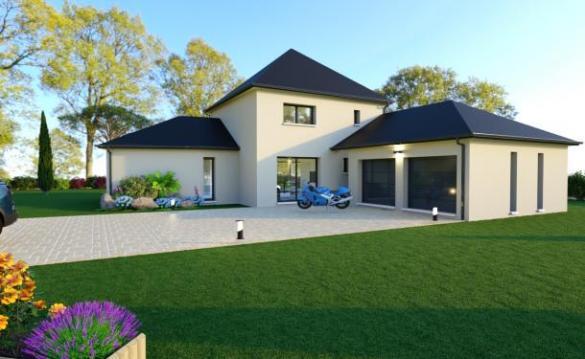 Maison+Terrain à vendre .(138 m²)(SEMBLANCAY) avec (MAISON LAURE)