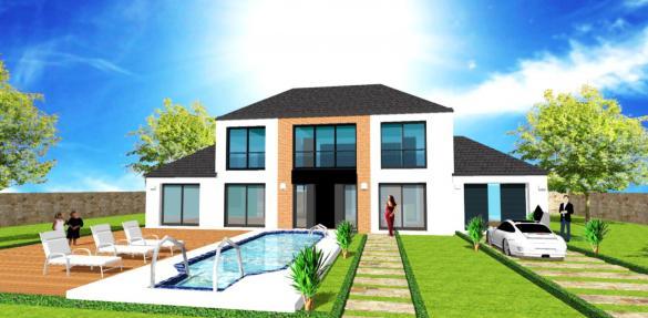 Maison+Terrain à vendre .(100 m²)(MARCOUSSIS) avec (Maisons RéaBelle)
