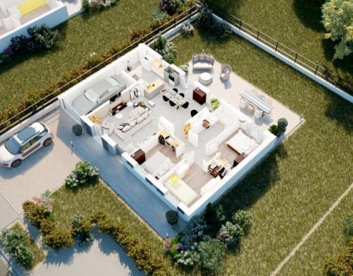 Maison à vendre .(90 m²)(VERMELLES) avec (MAISONS PIERRE ARRAS)