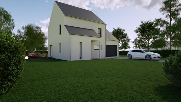Maison+Terrain à vendre .(110 m²)(INGRE) avec (MON COURTIER MAISON)