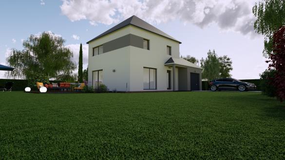 Maison+Terrain à vendre .(90 m²)(FLEURY LES AUBRAIS) avec (MON COURTIER MAISON)