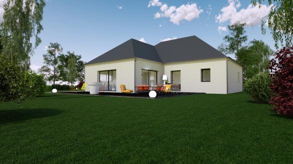 Maison+Terrain à vendre .(120 m²)(DONNERY) avec (MON COURTIER MAISON)