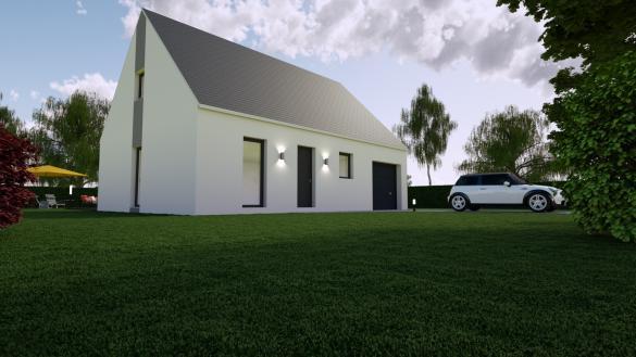 Maison+Terrain à vendre .(87 m²)(DONNERY) avec (MON COURTIER MAISON)