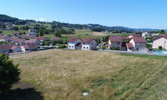 Terrain à vendre .(543 m²)(MONTFERRAT) avec (KP CONSTRUCTION)