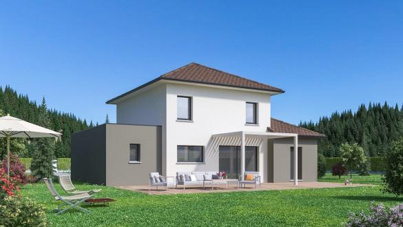 Maison+Terrain à vendre .(128 m²)(BONNEVILLE) avec (MAISON FAMILIALE)