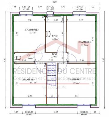 Maison+Terrain à vendre .(96 m²)(MANTES LA JOLIE) avec (RESIDENCES DU CENTRE)