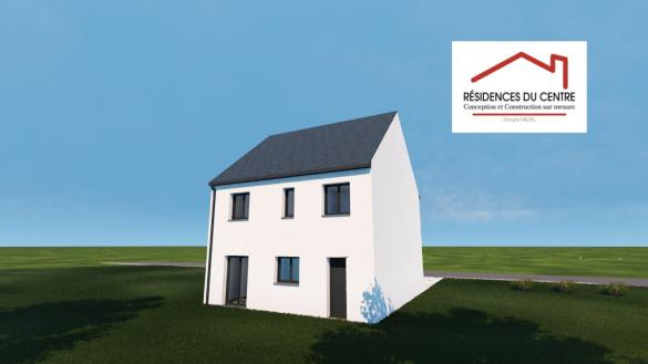 Maison+Terrain à vendre .(96 m²)(BREVAL) avec (RESIDENCES DU CENTRE)