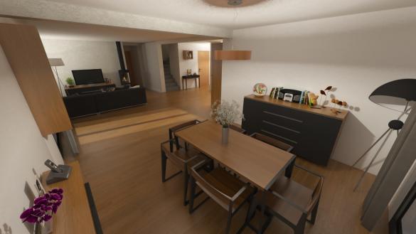 Maison à vendre .(104 m²)(BRISON SAINT INNOCENT) avec (MAISONS OXEO)