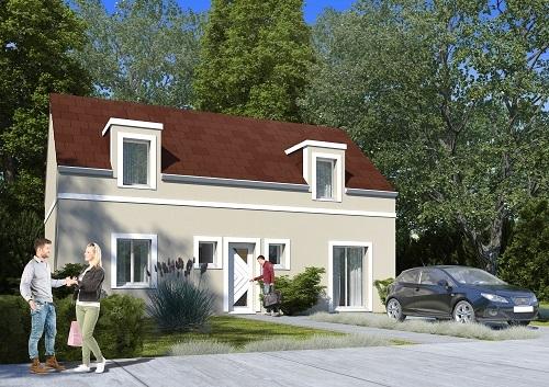 Maison+Terrain à vendre .(115 m²)(MAGNY EN VEXIN) avec (HABITAT CONCEPT)