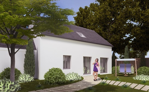 Maison+Terrain à vendre .(93 m²)(MAGNY EN VEXIN) avec (HABITAT CONCEPT)