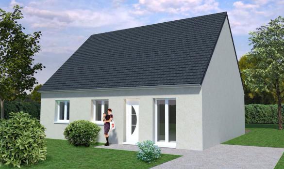 Maison+Terrain à vendre .(FONTENAY SUR EURE) avec (MAISONS AVENIR)