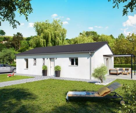Maison+Terrain à vendre .(90 m²)(SAINTE MARIE DE GOSSE) avec (COULEUR VILLAS LABENNE)