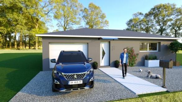 Maison à vendre .(110 m²)(LAURAGUEL) avec (ESQUISS 11)