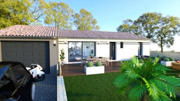Maison à vendre .(90 m²)(ROUBIA) avec (ESQUISS 11)