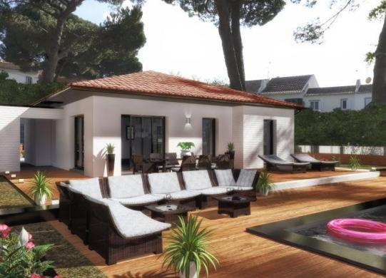 Maison à vendre .(90 m²)(MONTBLANC) avec (ESQUISS 34)