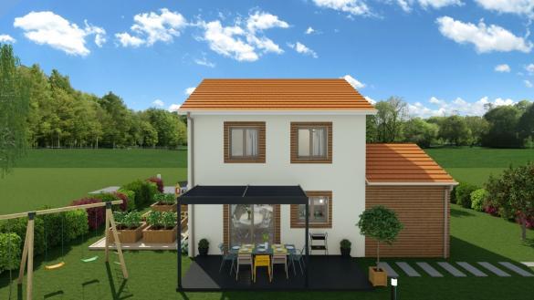 Maison à vendre .(89 m²)(SAINT MARCELLIN) avec (MAISONS LOGELIS - ROMANS)