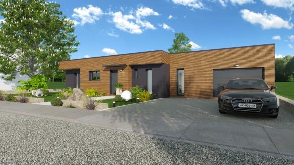 Maison à vendre .(135 m²)(GUERANDE) avec (MAISONS LOGELIS - SAINT SEBASTIEN)