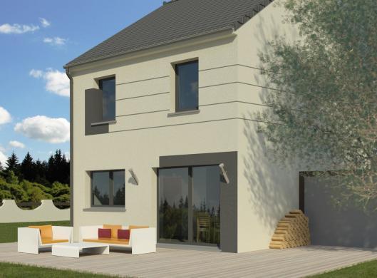 Maison+Terrain à vendre .(90 m²)(LONGPONT SUR ORGE) avec (MAISON FAMILIALE HERBLAY)