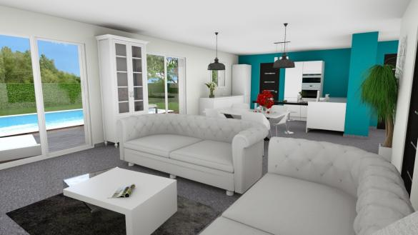 Maison+Terrain à vendre .(97 m²)(BOURG EN BRESSE) avec (LES DEMEURES REGIONALES)