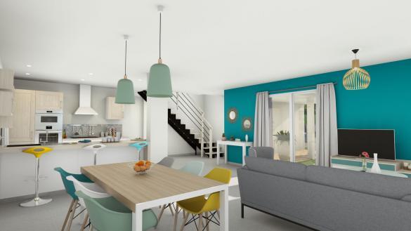 Maison+Terrain à vendre .(122 m²)(CHASSELAS) avec (LES DEMEURES REGIONALES)