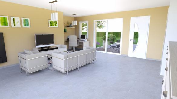 Maison+Terrain à vendre .(104 m²)(BAGE LA VILLE) avec (LES DEMEURES REGIONALES)
