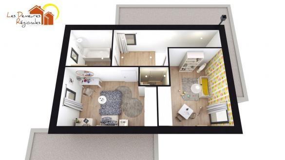 Maison+Terrain à vendre .(99 m²)(CRECHES SUR SAONE) avec (LES DEMEURES REGIONALES)