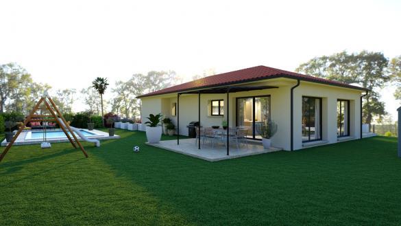 Maison+Terrain à vendre .(105 m²)(TALLENDE) avec (LES DEMEURES REGIONALES)
