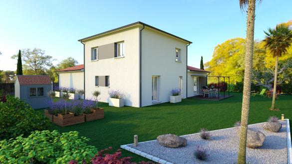 Maison+Terrain à vendre .(122 m²)(MEZEL) avec (LES DEMEURES REGIONALES)