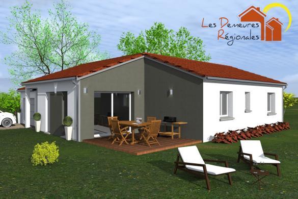 Maison+Terrain à vendre .(91 m²)(ENNEZAT) avec (LES DEMEURES REGIONALES)
