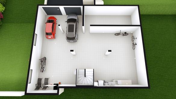Maison+Terrain à vendre .(105 m²)(CHATELGUYON) avec (LES DEMEURES REGIONALES)