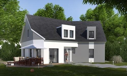 Maison+Terrain à vendre .(137 m²)(ROZAY EN BRIE) avec (LES MAISONS.COM)