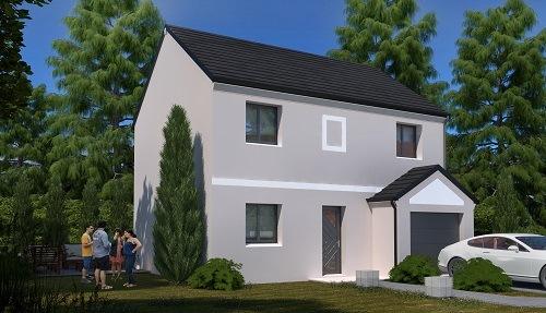 Maison+Terrain à vendre .(86 m²)(MONTEREAU FAULT YONNE) avec (LES MAISONS.COM)