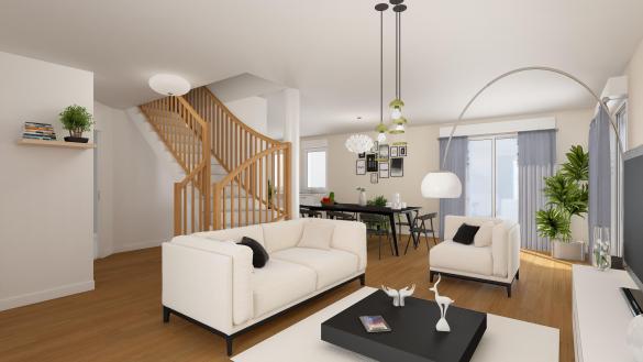 Maison+Terrain à vendre .(127 m²)(VOULX) avec (LES MAISONS.COM)