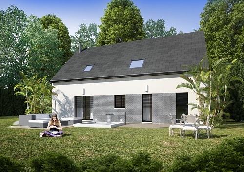 Maison+Terrain à vendre .(124 m²)(CHATILLON LA BORDE) avec (LES MAISONS.COM)