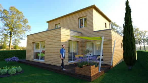 Maison+Terrain à vendre .(100 m²)(DOL DE BRETAGNE) avec (Ami Bois Rennes)