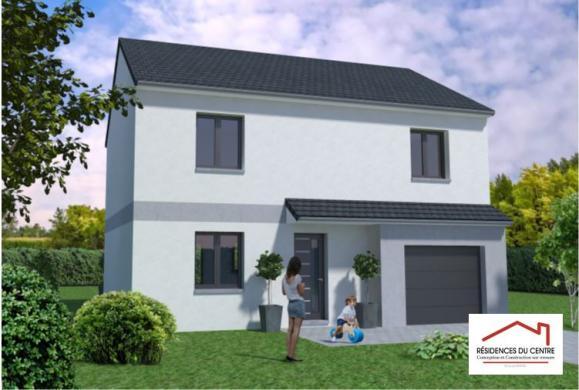 Maison+Terrain à vendre .(104 m²)(CHARTRES) avec (RESIDENCES DU CENTRE)