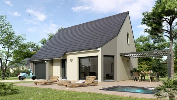 Maison à vendre .(100 m²)(CAEN) avec (MAISONS HEXAGONE CAEN)