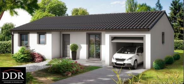 Maison+Terrain à vendre .(80 m²)(ARGENS MINERVOIS) avec (DEMEURES DU ROUSSILLON)