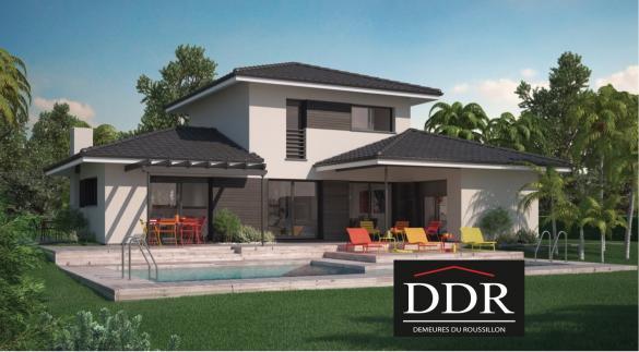 Maison+Terrain à vendre .(110 m²)(ARGENS MINERVOIS) avec (DEMEURES DU ROUSSILLON)