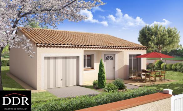 Maison+Terrain à vendre .(60 m²)(VENTENAC EN MINERVOIS) avec (DEMEURES DU ROUSSILLON)