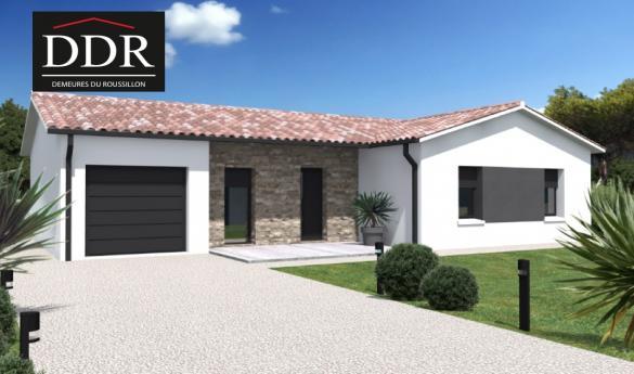 Maison+Terrain à vendre .(70 m²)(PEYRIAC DE MER) avec (DEMEURES DU ROUSSILLON)