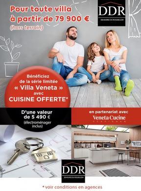 Maison+Terrain à vendre .(70 m²)(CAVES) avec (DEMEURES DU ROUSSILLON)