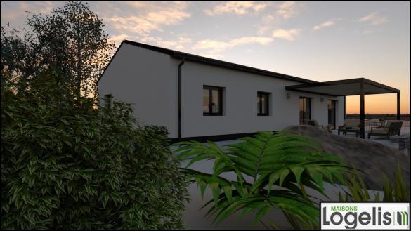 Maison à vendre .(93 m²)(SAINT AUBIN D'AUBIGNE) avec (MAISONS LOGELIS - RENNES)