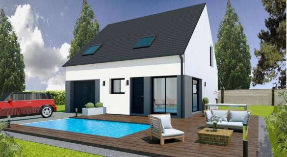 Maison+Terrain à vendre .(BRANDIVY) avec (Maisons Pep s)