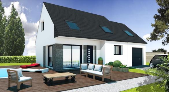 Maison+Terrain à vendre .(PLUMELIAU) avec (Maisons Pep s)