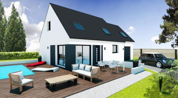 Maison+Terrain à vendre .(LANDEVANT) avec (Maisons Pep s)