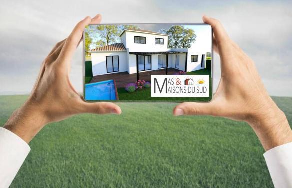 Terrain à vendre .(268 m²)(MEYRARGUES) avec (MAS MAISONS SUD)