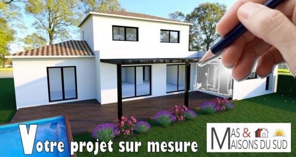 Maison+Terrain à vendre .(80 m²)(LAPALUD) avec (MAS MAISONS SUD)